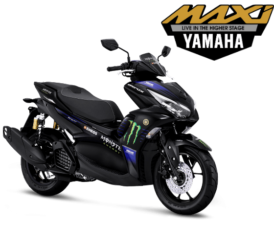 ALL NEW AEROX 155 CONNECTED ABS - MOTOGP EDITION